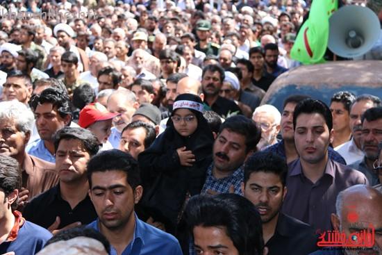 مراسم تشییع پیکر شهید اخوندی-رفسنجان-خانه خشتی (۲۴)