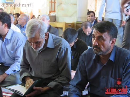 مراسم گرامیداشت شهیدان آخوندی و رحمانی در رفسنجان-خانه خشتی (۱۱)