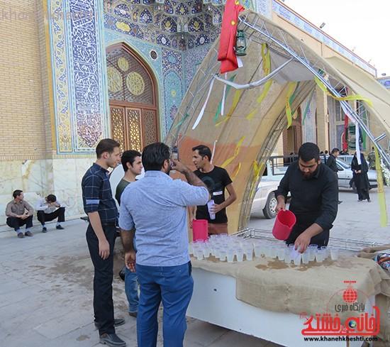 مراسم گرامیداشت شهیدان آخوندی و رحمانی در رفسنجان-خانه خشتی (۱۳)