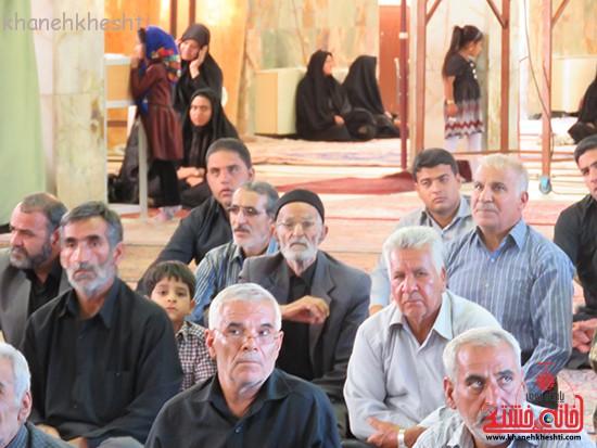 مراسم گرامیداشت شهیدان آخوندی و رحمانی در رفسنجان-خانه خشتی (۱۵)