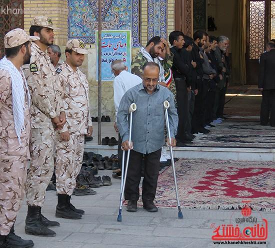 مراسم گرامیداشت شهیدان آخوندی و رحمانی در رفسنجان-خانه خشتی (۷)