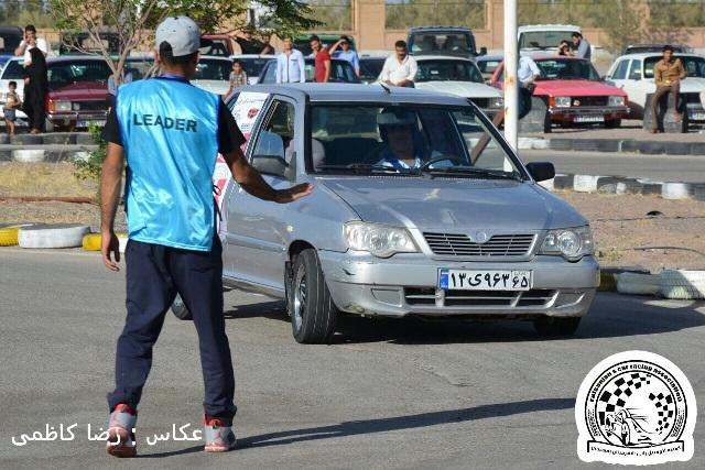 مسابقه اتومبیلرانی اسلالوم قهرمانی در رفسنجان برگزار شد