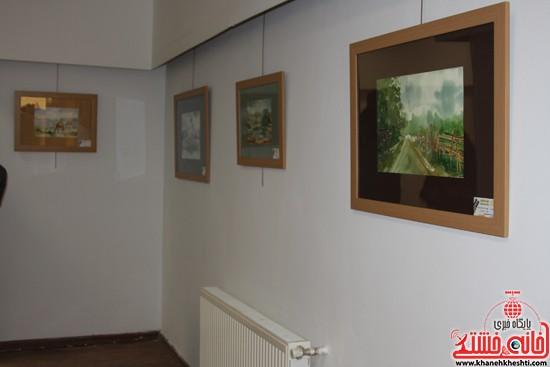گالری نقاشی ابرنگ هنرمند رفسنجانی فهیمه پورامینایی (۱۰)