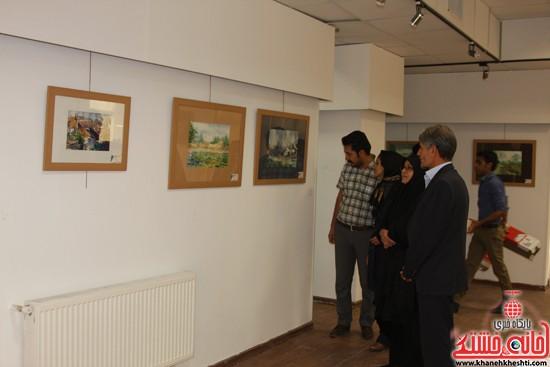گالری نقاشی ابرنگ هنرمند رفسنجانی فهیمه پورامینایی (۳)