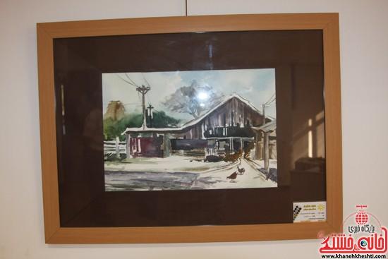 گالری نقاشی ابرنگ هنرمند رفسنجانی فهیمه پورامینایی (۴)