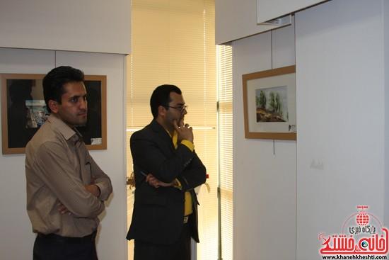 گالری نقاشی ابرنگ هنرمند رفسنجانی فهیمه پورامینایی (۵)