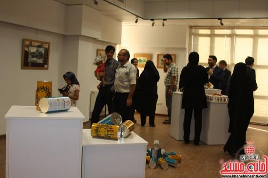 گالری نقاشی ابرنگ هنرمند رفسنجانی فهیمه پورامینایی (۶)