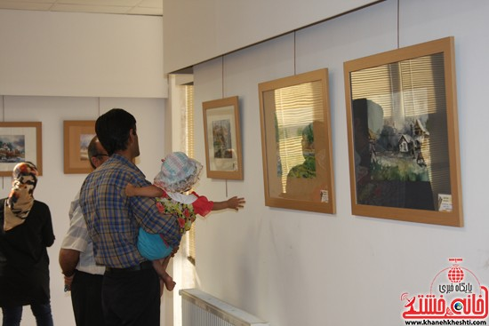 گالری نقاشی ابرنگ هنرمند رفسنجانی فهیمه پورامینایی (۷)