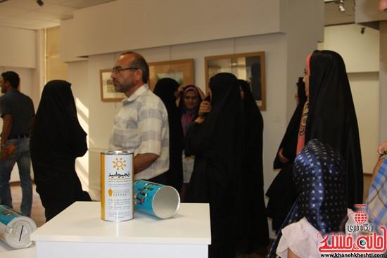 گالری نقاشی ابرنگ هنرمند رفسنجانی فهیمه پورامینایی (۸)
