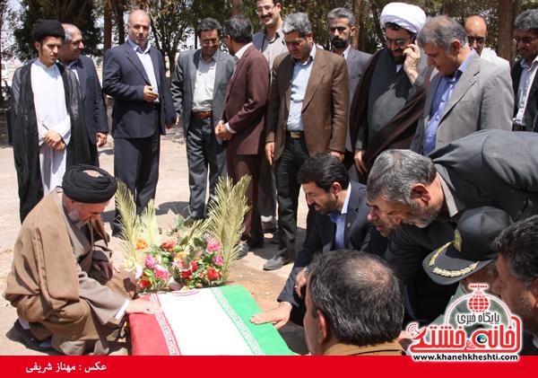 گلزار شهدا قاسم آباد رفسنجان-شهید آخوندی-خانه خشتی (۱)