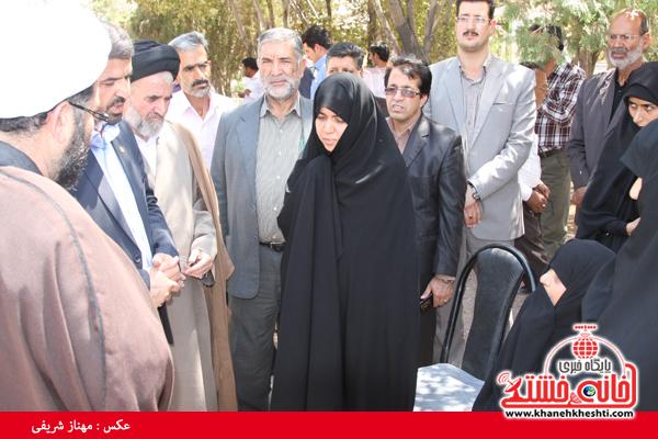 گلزار شهدا قاسم آباد رفسنجان-شهید آخوندی-خانه خشتی (۵)