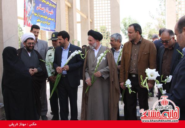 گلزار شهدا کمال آباد رفسنجان-شهید رحمانی-خانه خشتی (۱)