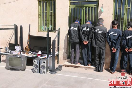 سرقت-رفسنجان-خانه خشتی
