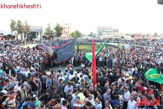 کاروان شهدای غواص به شهر رفسنجان رسید