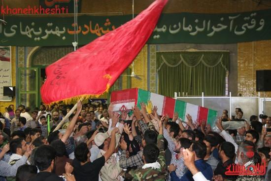 تصاویر/ مردم رفسنجان برای شهداء سنگ تمام گذاشتند