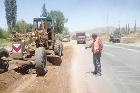 آزاد سازی حریم راه روستای ناصریه رفسنجان
