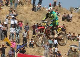 کسب مقام سوم موتور سوار رفسنجانی در مسابقات موتورکراس قهرمانی کشور