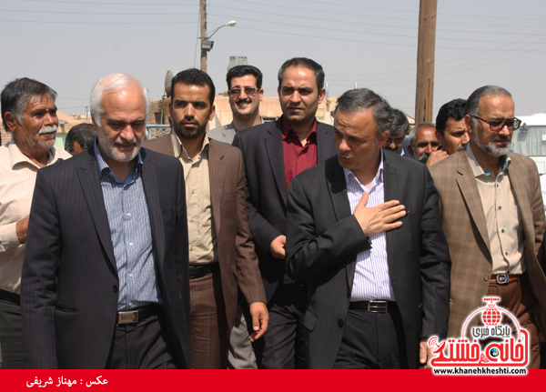 استاندار کرمان به رفسنجان سفر کرد / عکس