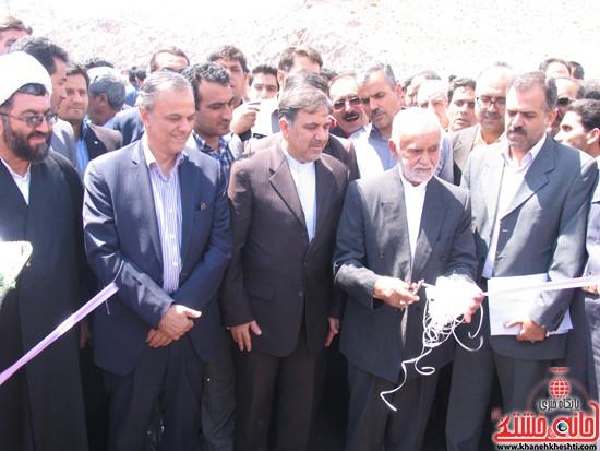 دوربین خانه خشتی در سفر وزیر راه و شهرسازی به رفسنجان (۱۱)