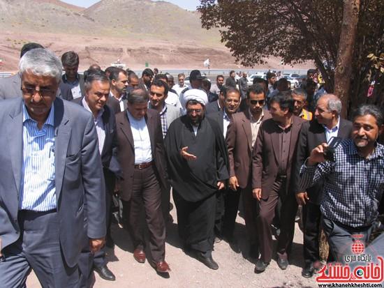 دوربین خانه خشتی در سفر وزیر راه و شهرسازی به رفسنجان (۳)