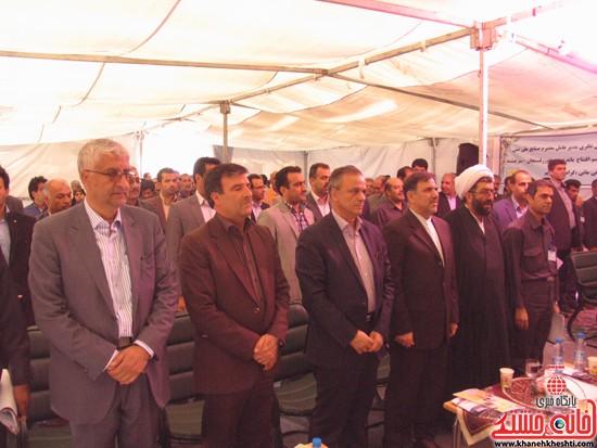 دوربین خانه خشتی در سفر وزیر راه و شهرسازی به رفسنجان (۶)