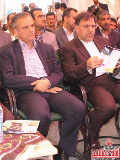 دوربین خانه خشتی در سفر وزیر راه و شهرسازی به رفسنجان (۷)