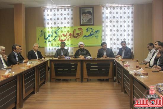 دیدار مدیران تعاونی رفسنجان با امام جمعه-خانه خشتی (۱)