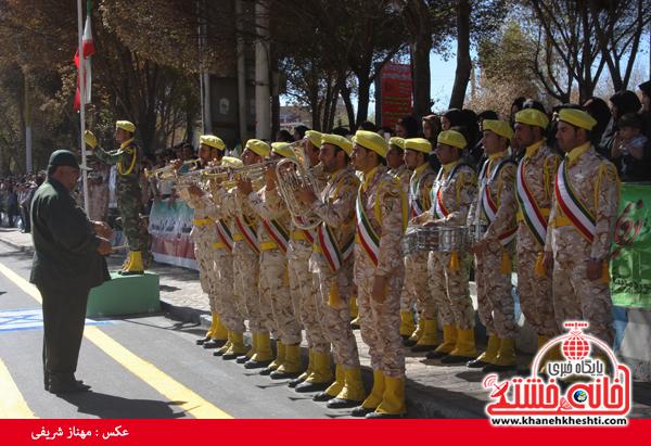 رژه نیروی های مسلح- رفسنجان-خانه خشتی (۱۰)