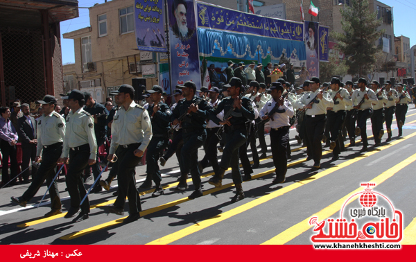 رژه نیروی های مسلح- رفسنجان-خانه خشتی (۱۵)