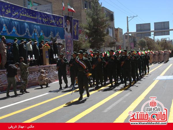 رژه نیروی های مسلح- رفسنجان-خانه خشتی (۱۶)