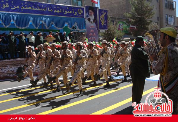 رژه نیروی های مسلح- رفسنجان-خانه خشتی (۱۸)