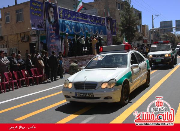 رژه نیروی های مسلح- رفسنجان-خانه خشتی (۲)
