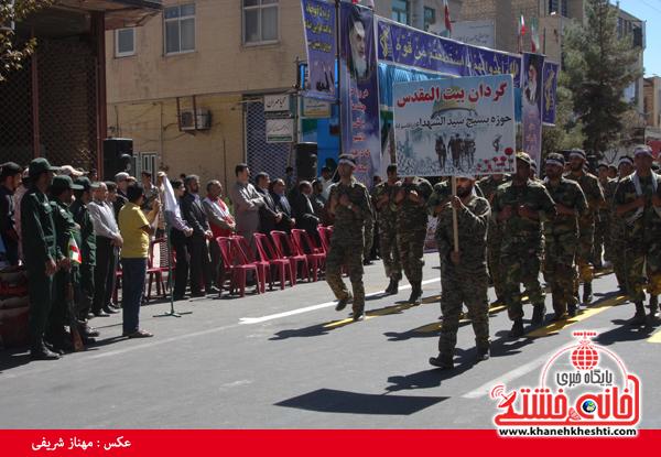 رژه نیروی های مسلح- رفسنجان-خانه خشتی (۲۲)