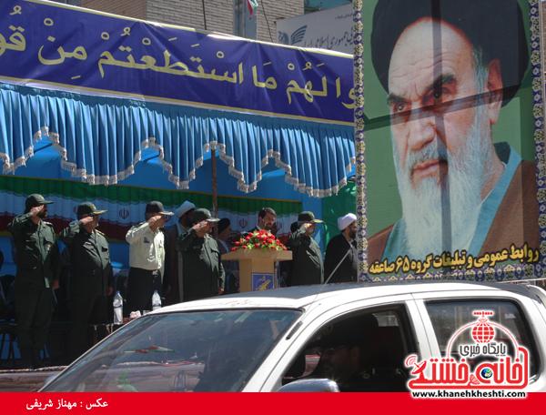 رژه نیروی های مسلح- رفسنجان-خانه خشتی (۵)
