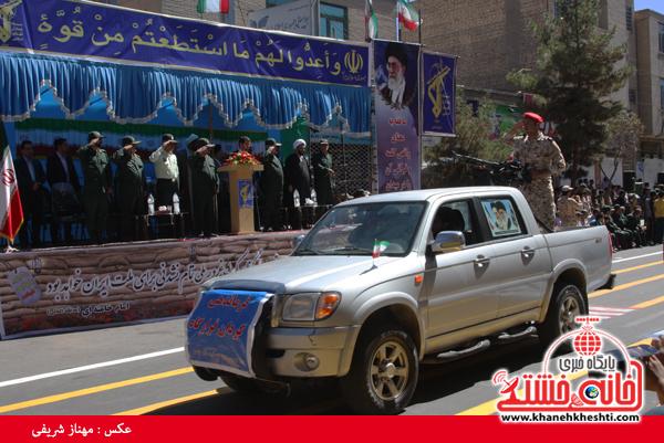 رژه نیروی های مسلح- رفسنجان-خانه خشتی (۶)