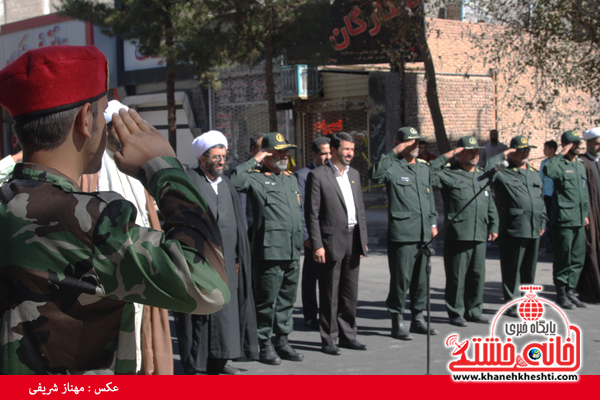 رژه نیروی های مسلح- رفسنجان-خانه خشتی (۹)