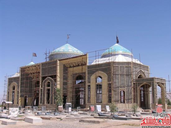 مقبره شهدای صفائیه-رفسنجان-خانه خشتی (۱)