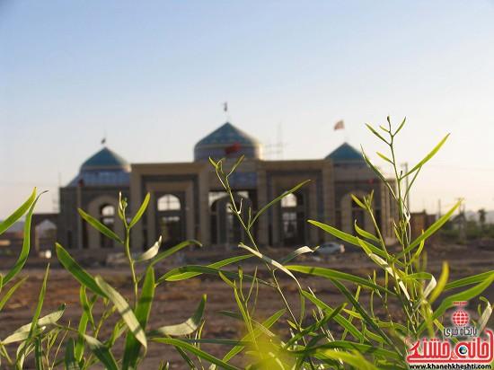 مقبره شهدای صفائیه-رفسنجان-خانه خشتی (۲)