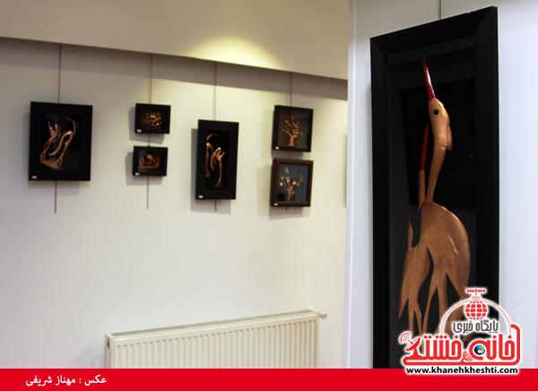 نمایشگاه تابلوهای مسی در رفسنجان رو به اتمام است / عکس