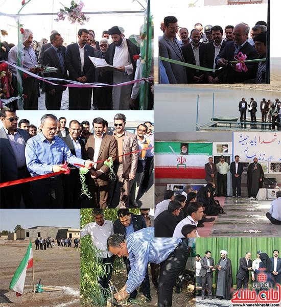 هفته دولت در شهرستان رفسنجان-خانه خشتی