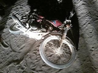 موتورسیکلت جان ۲ افغان را گرفت