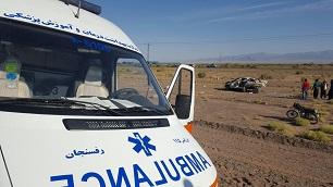 ۲حادثه ترافیکی در محور رفسنجان به کرمان ۲ کشته و ۵ مصدوم برجای گذاشت