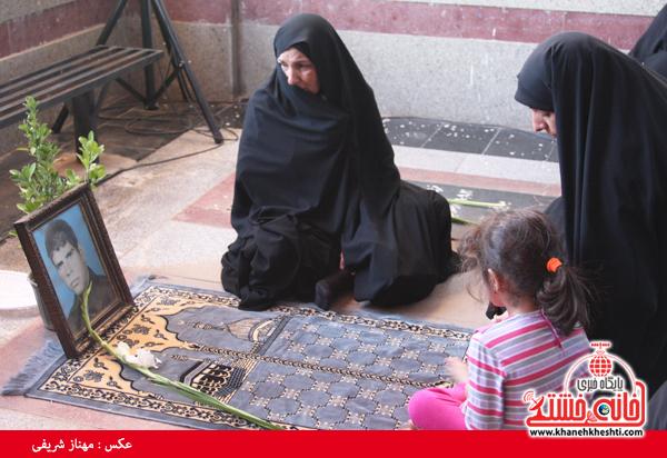 جوانان رفسنجانی یاد شهدا را زنده کردند / عکس