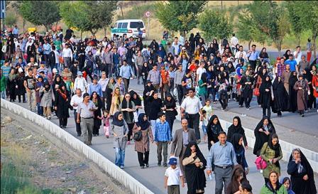 همایش پیاده روی خانوادگی در حومه غربی برگزار می شود