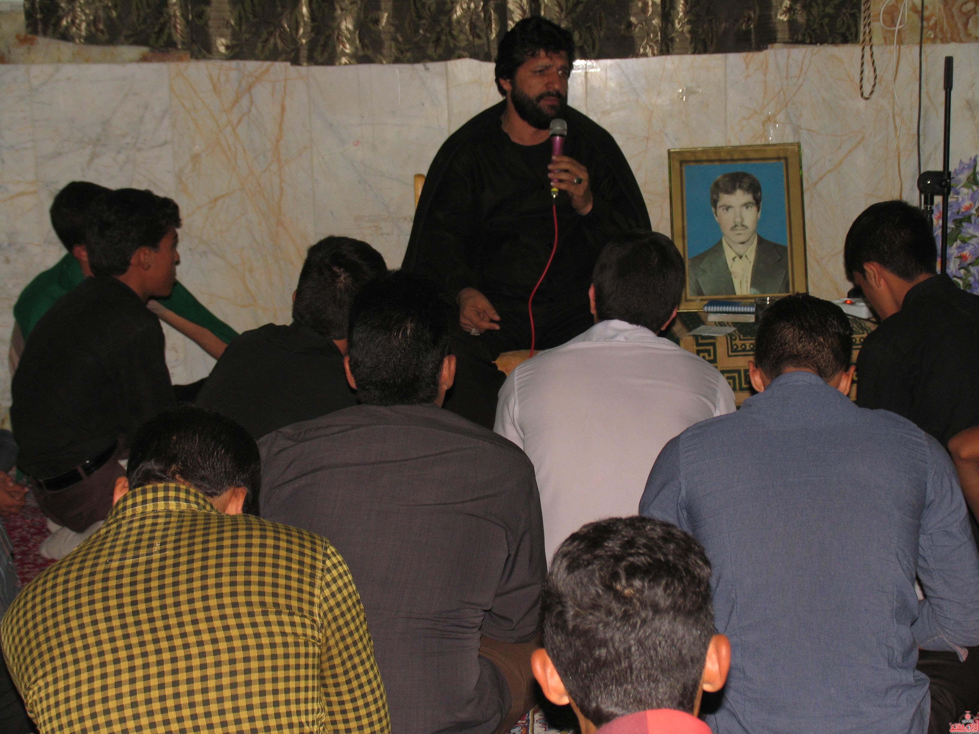 مراسم یادبود شهید حسین شمس الدینی رکن آباد برگزار شد/ عکس