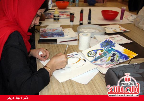 کارگاه تصویرسازی-رفسنجان-خانه خشتی