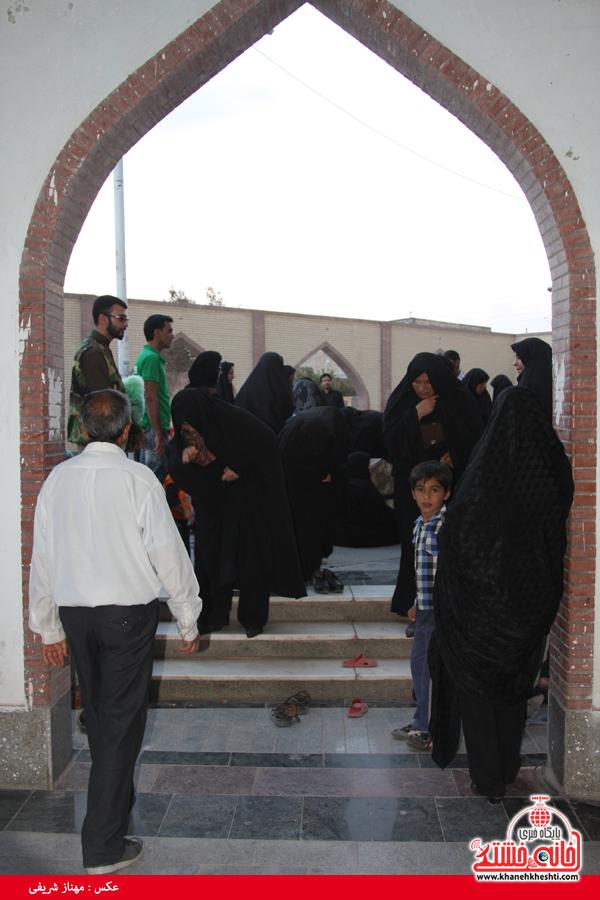 شهدای مدافع حرم حضرت زینب(س)-رفسنجان-خانه خشتی
