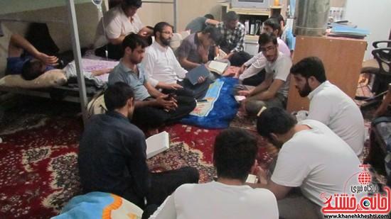 تلاش جهادگران دانشگاه ولیعصر(عج) رفسنجان-خانه خشتی