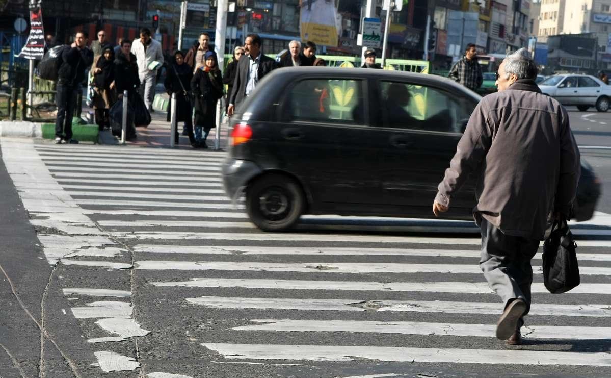 ۴۵ درصد متوفیان حوادث رانندگی در رفسنجان عابرین پیاده هستند