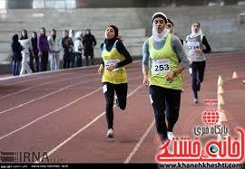مسابقات همگانی دوومیدانی بانوان در رفسنجان برگزار شد